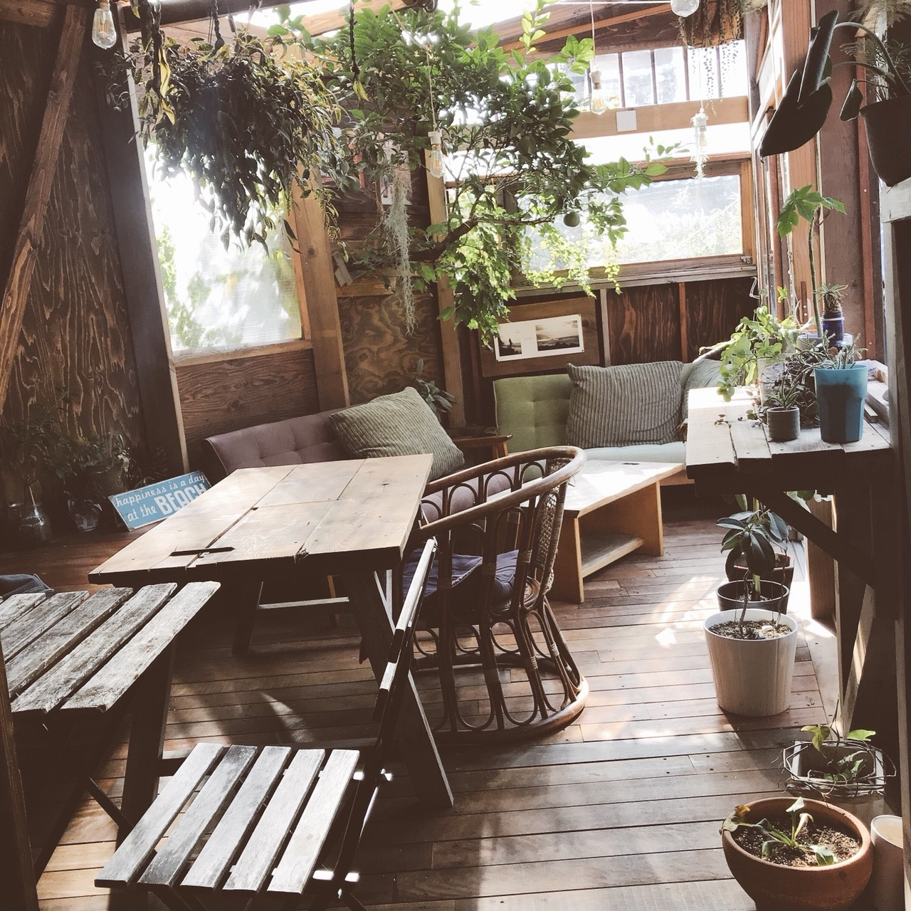 Seedling Cafe店内