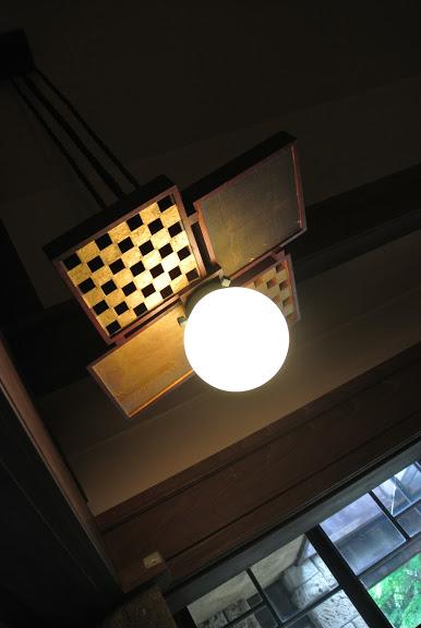 加地邸の照明