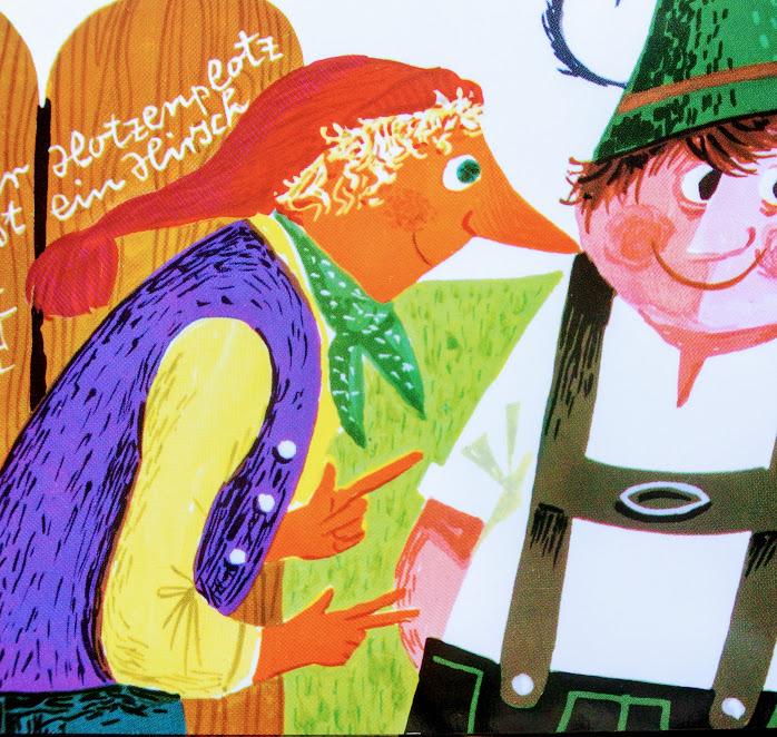 ドイツの児童文学シリーズ「大どろぼうホッツェンプロッツ」から、主人公の写真