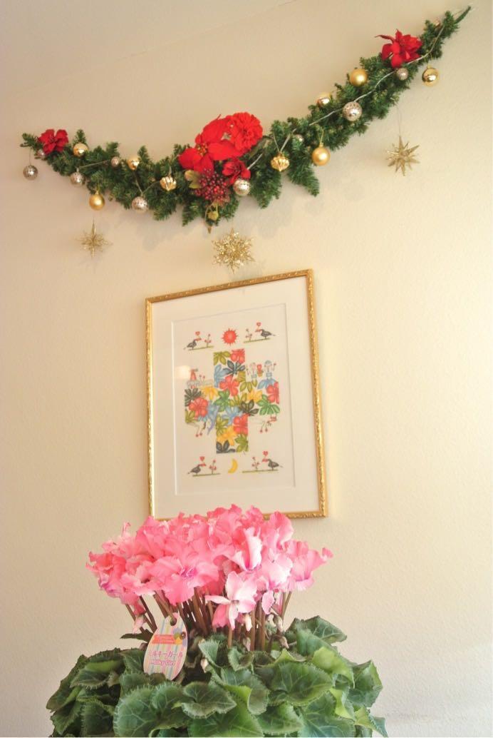 季節のお花が可愛らしく、明るい店先のFruhling(フリューリング)