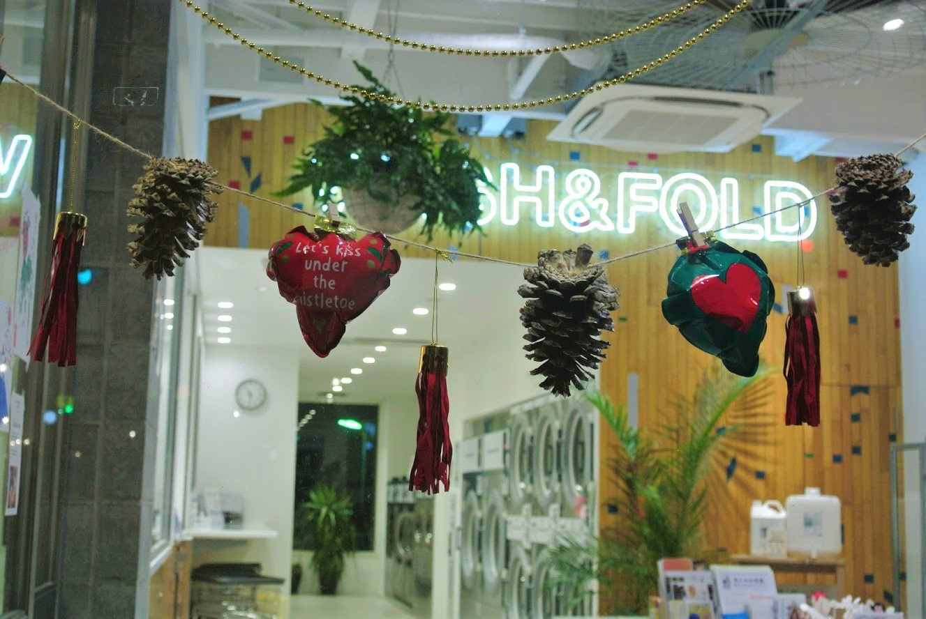 WASH&FOLD(ウォッシュ&フォールド )葉山店のクリスマス