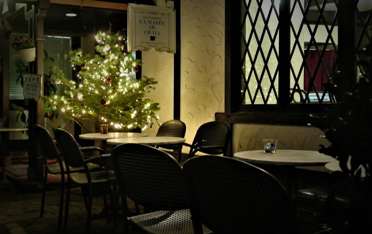 LA MARÉE DE CHAYA(ラマーレ ド チャヤ)のクリスマス