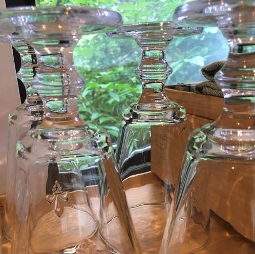 透明なグラス